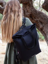 Wickeltasche global traveler in schwarz