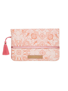 Windeltasche *henna paintings* von mara mea in rosa mit Paisleymuster