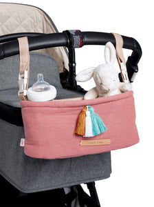 Kinderwagen-Organizer malay apple in blush