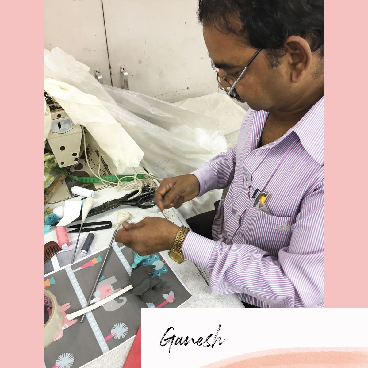 Ganesh - mara mea bag production