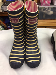 Striped Rainboots, size 8