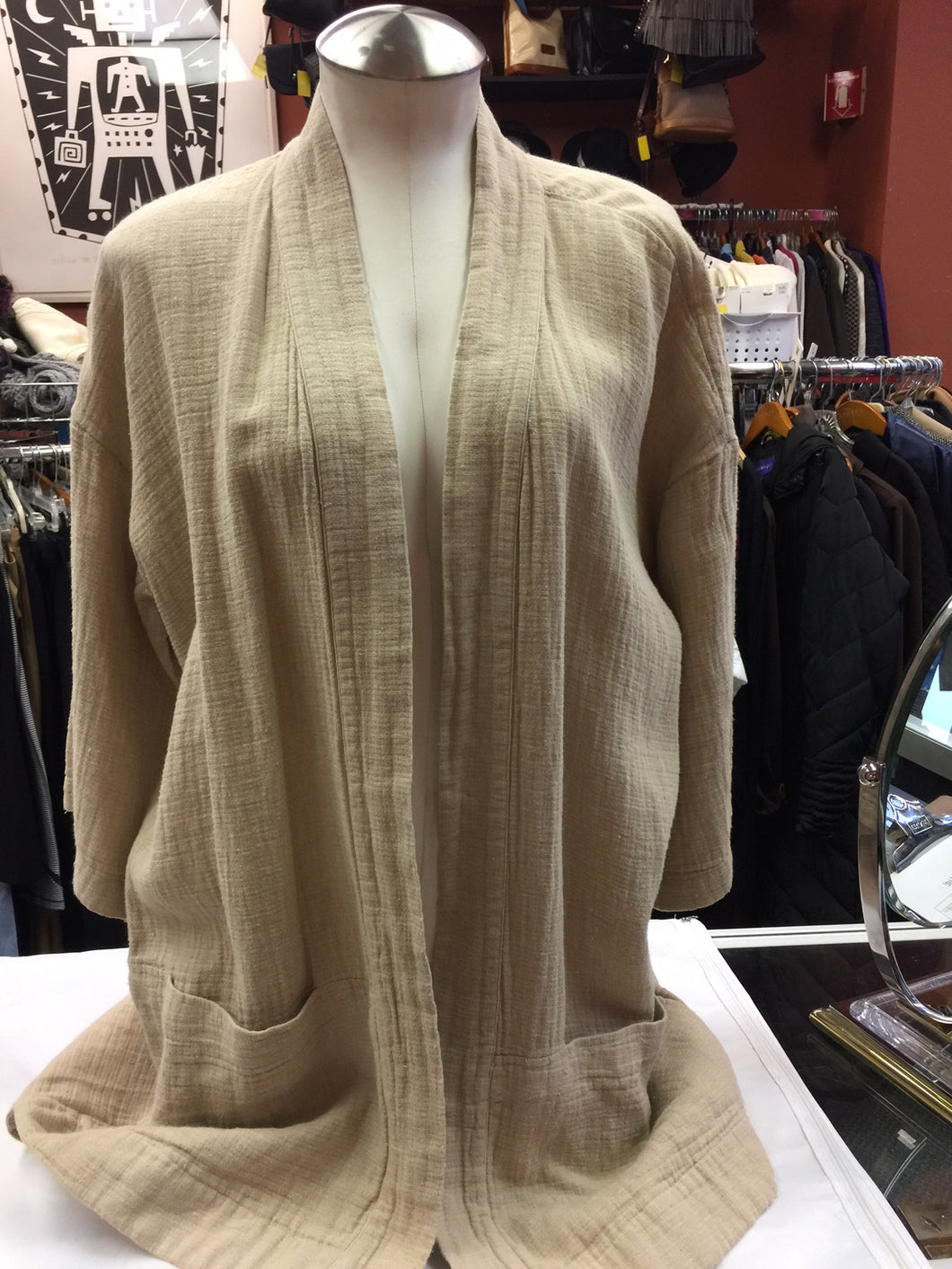 Beige Eileen Fisher Sweater