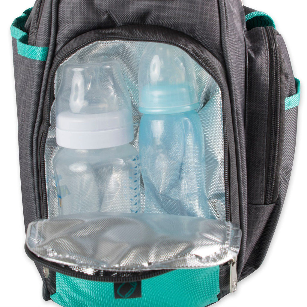0dfb0523d064 Fisher-Price Fast Finder Wide Opening Diaper Bag Tote