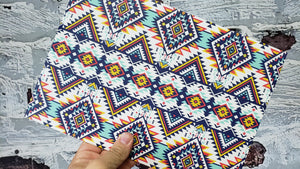"""Infused"" Aztec Pattern"
