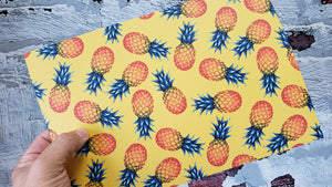"""Infused"" Pineapple Pattern"