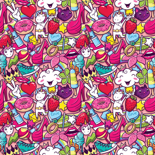 Crazy Girly Pattern