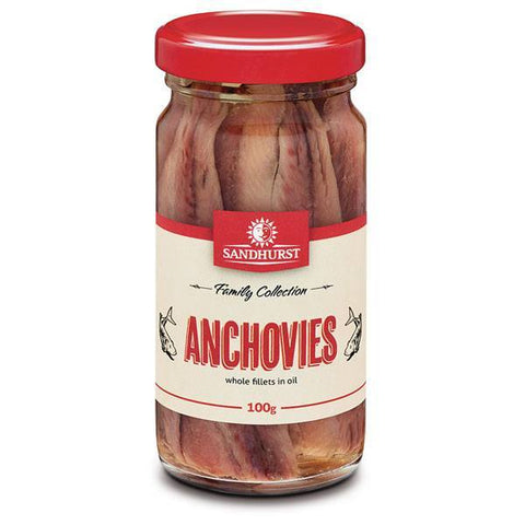 ANCHOVIES IN OIL 100G