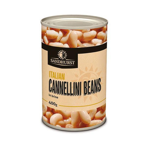 ITALIAN CANNELLINI BEANS 400g