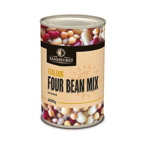 ITALIAN FOUR BEAN MIX 400g