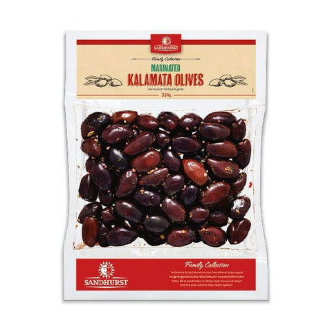 MARINATED KALAMATA OLIVES 350g