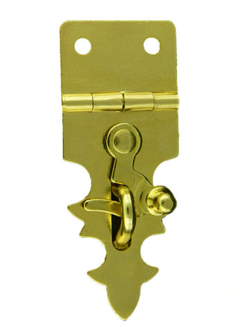 1210 Decorative Hasp with Swing Latch