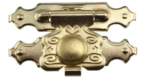 1271 Decorative Latch Catch w/Snap
