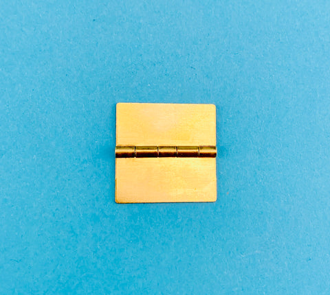 "6080-06 1"" x 1"" Solid Brass Butt Hinge"