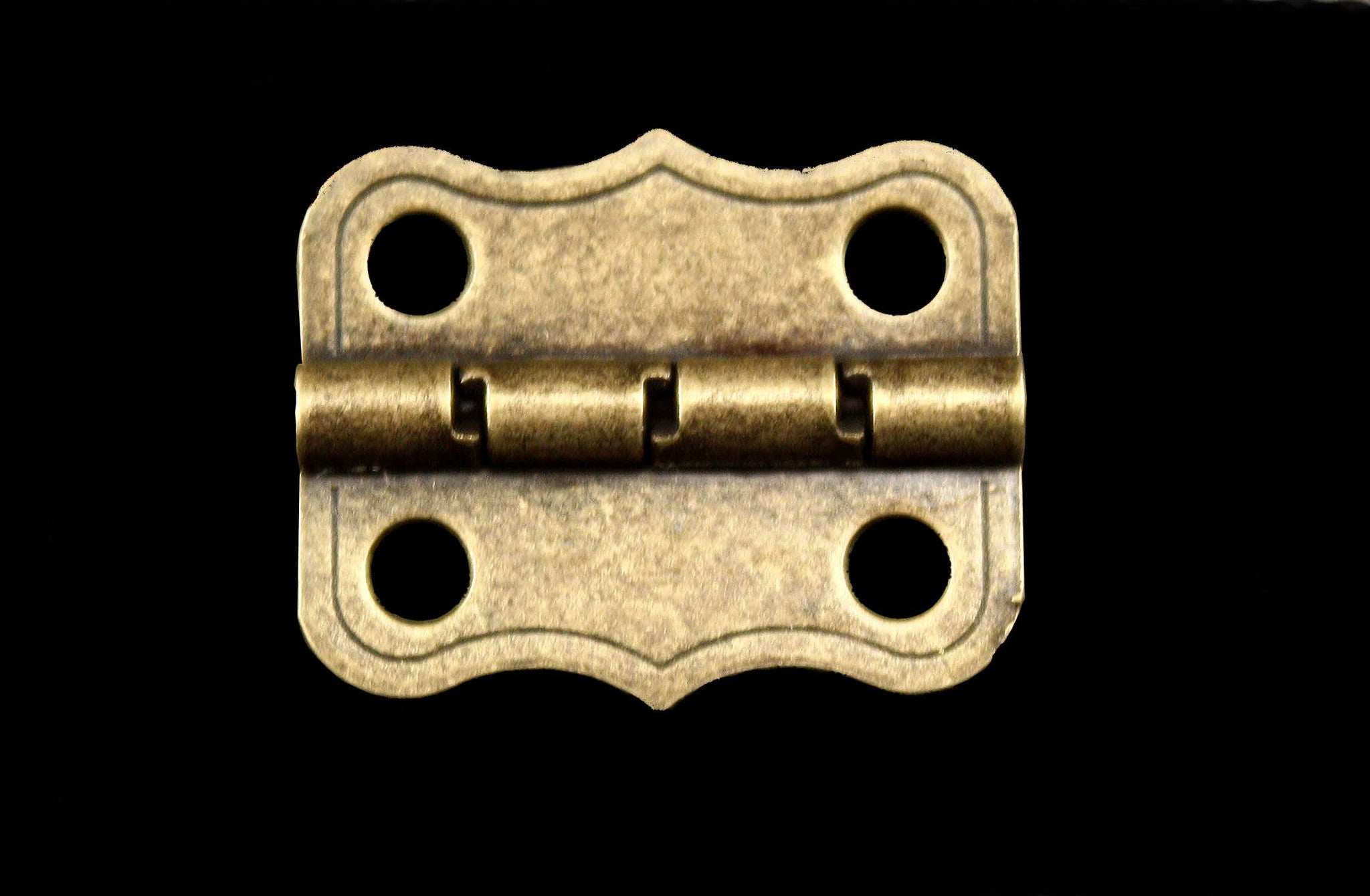 L1277  Large Decorative Hinge With Stop