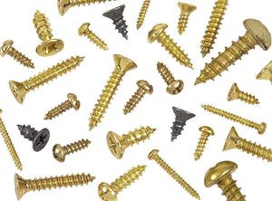 # 5 Brass Wood Screw