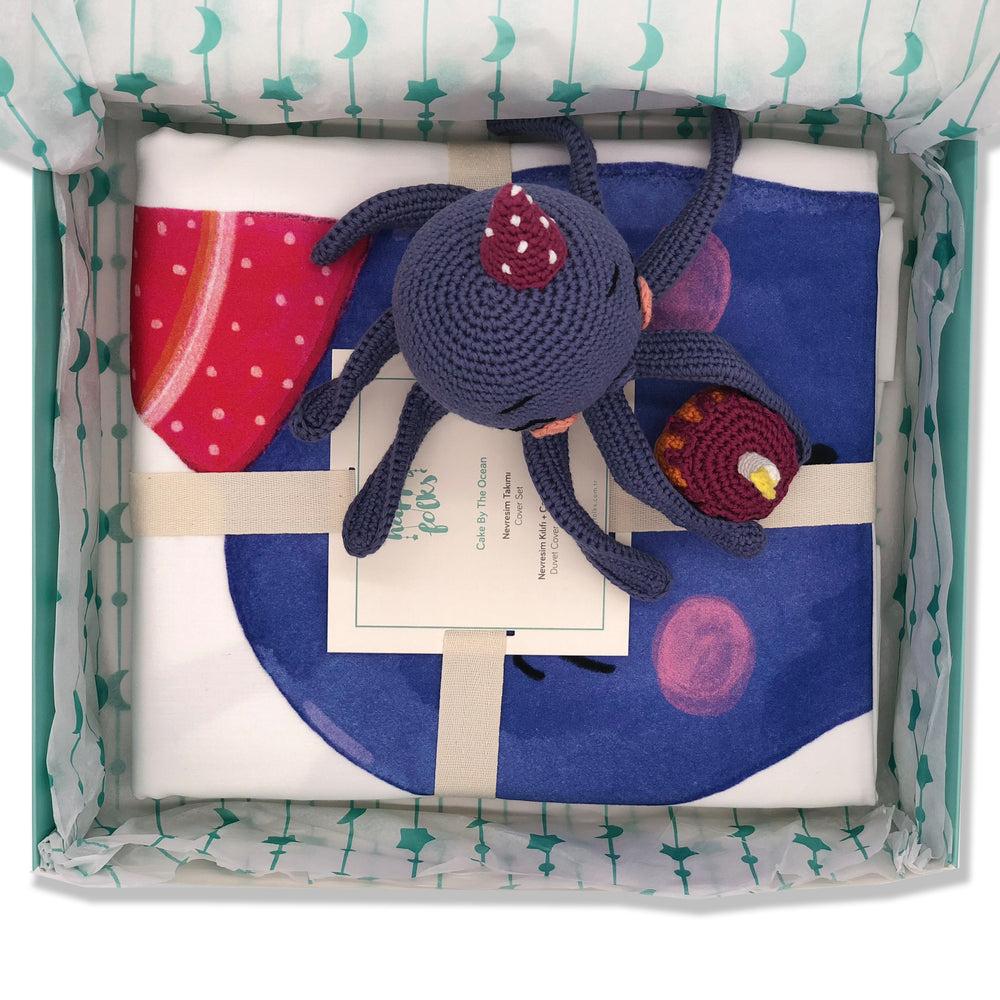 Birthday Kid Octopus Sleeping Kit