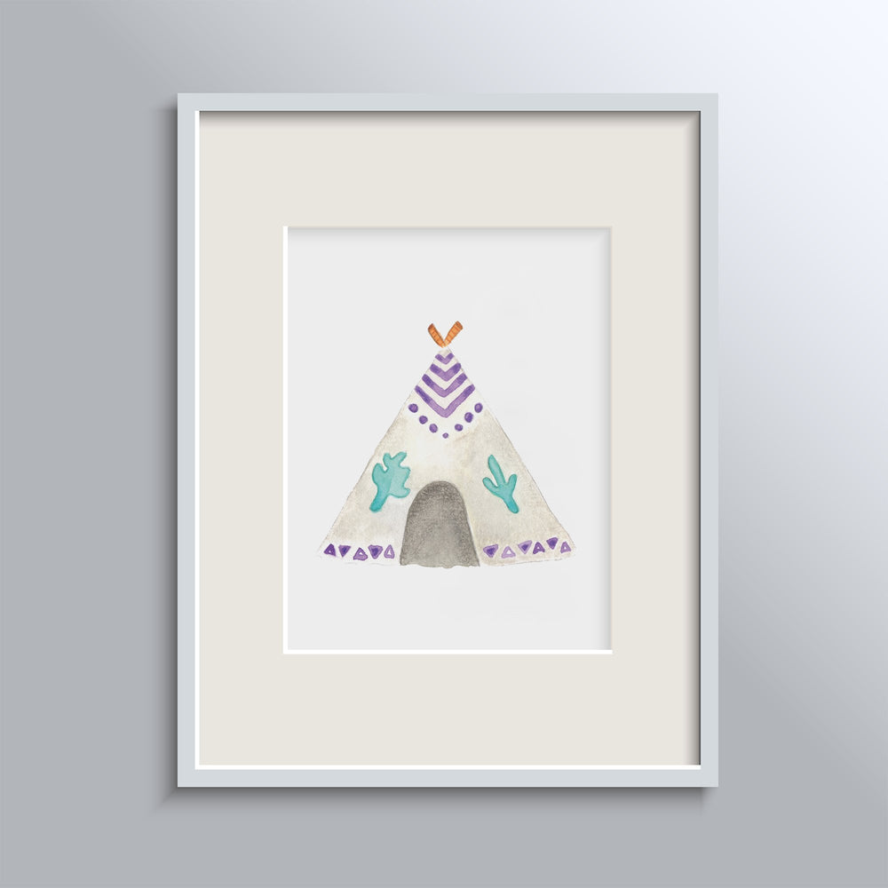 Tipi Tent Poster
