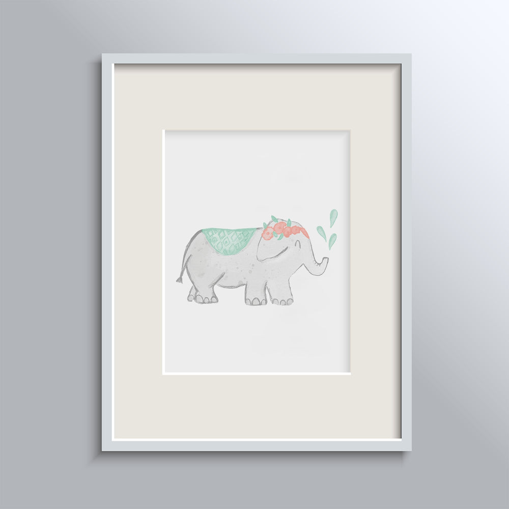 Miss Elephant Poster