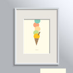 Ice Cream Land Poster No 4