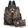 Leopard Backpack Purse