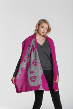 Luxe Marilyn Wrap Orchid