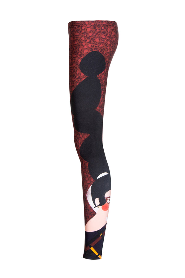 Legging Self Red