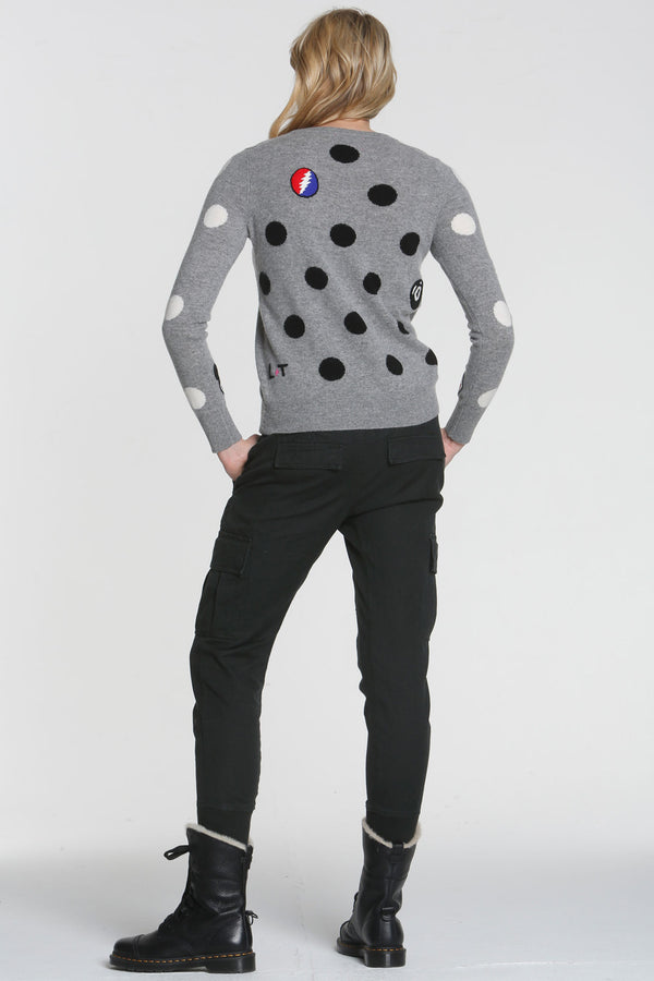 Polka Dot Mix Sweater