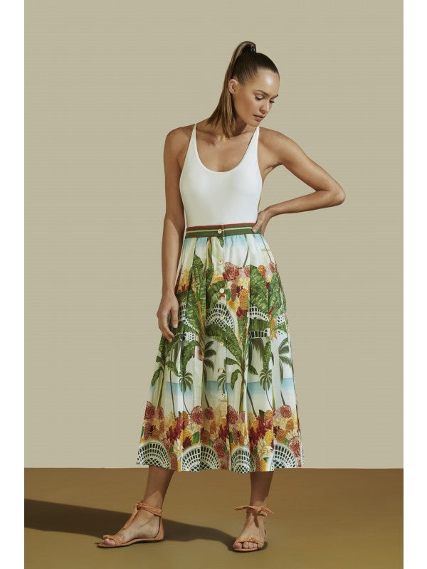 Midi Skirt Beach House