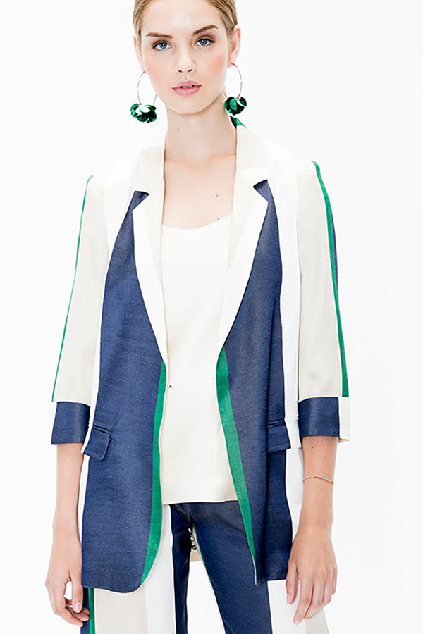 Clover Stripes Blazer
