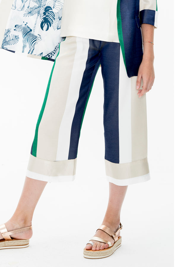 Leandra Green Pants