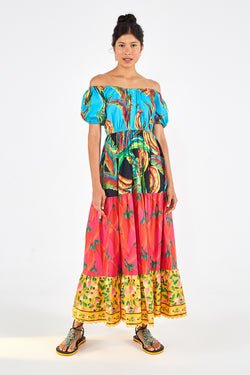 Farm Mix Maxi Dress