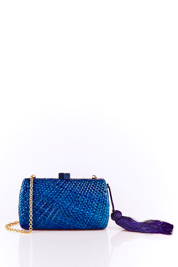Farah Blue Clutch