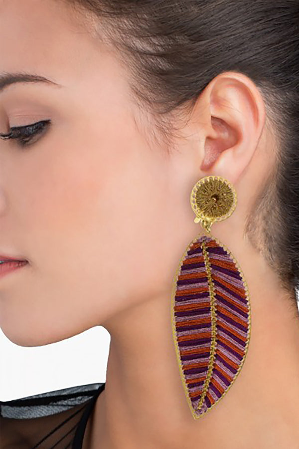 Hoja del Ocaso Earrings