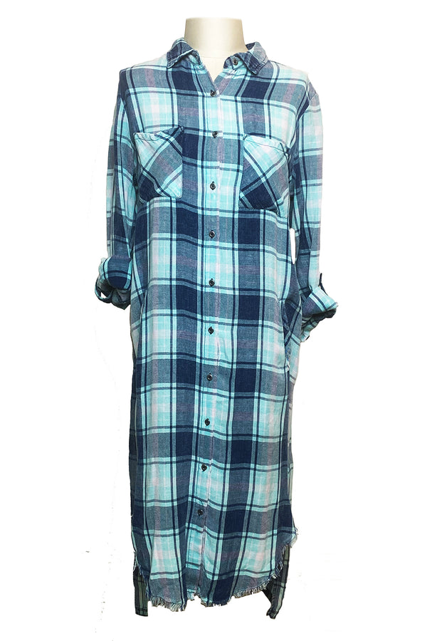 Pacific Coast Plaid Dress