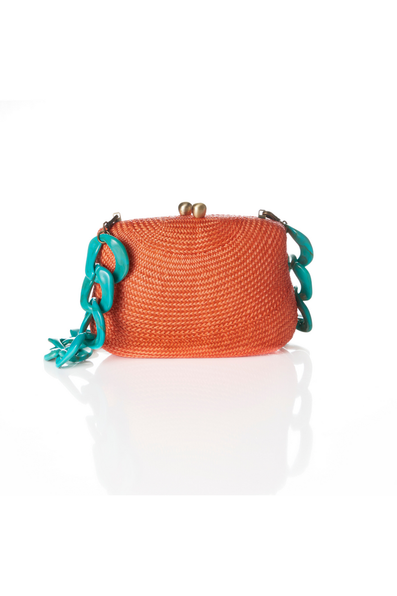 Blair Bun Coral Clutch