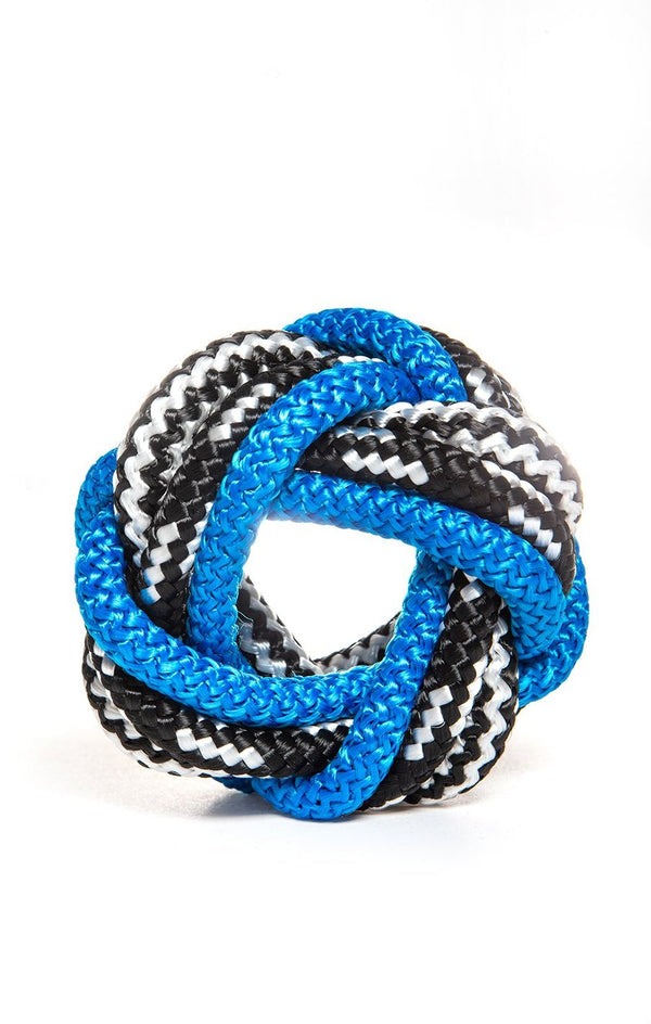 Braid Bracelet Black Blue