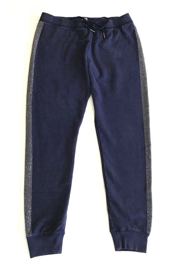 Blinged Out Basic Jogger Indigo
