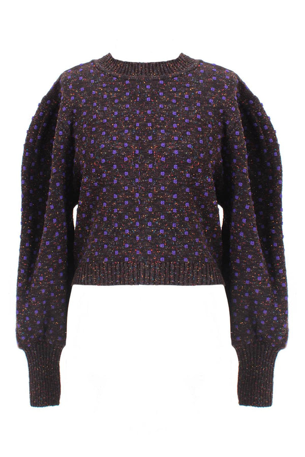 Gali Sweater in Purple