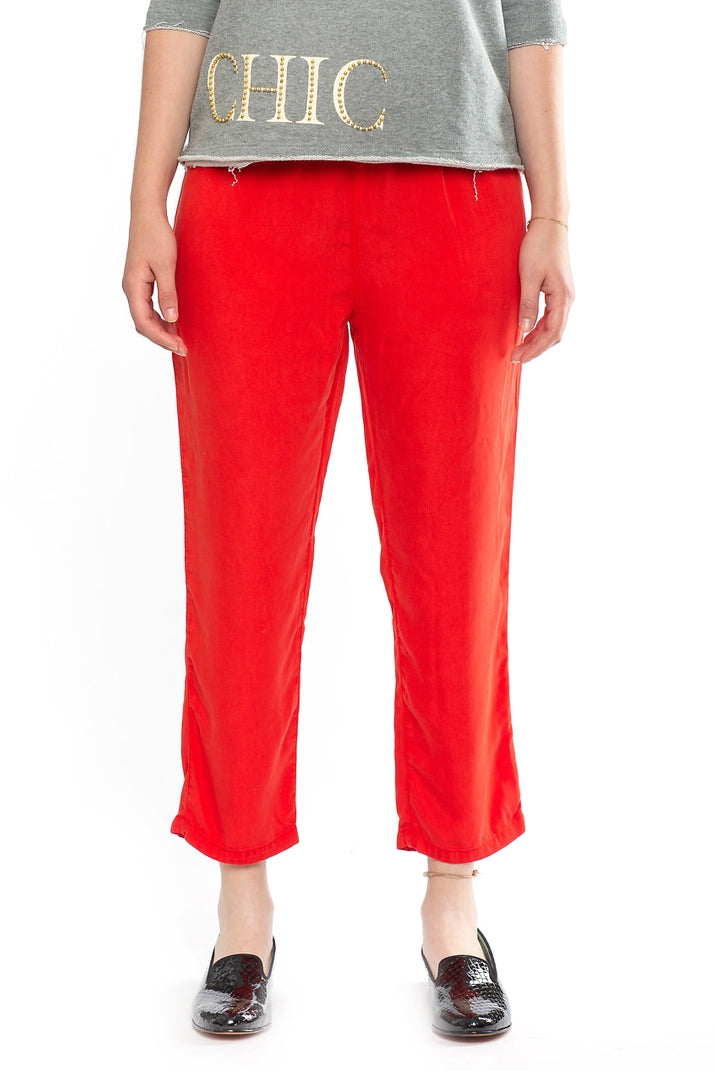 High Waisted Pants Tomato