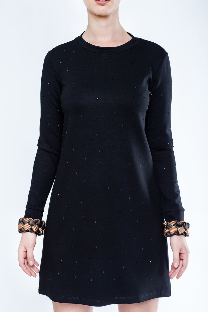 Black Dress with Strass