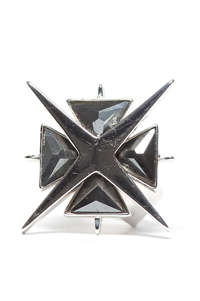 Star of Venus Hematite Ring