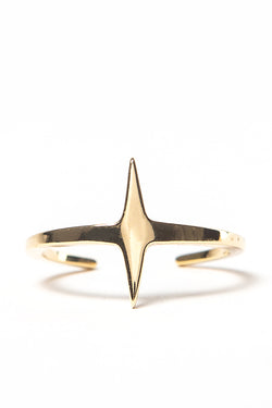 Mini Star Ring Gold