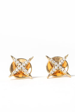 Mini Star Studs Gold