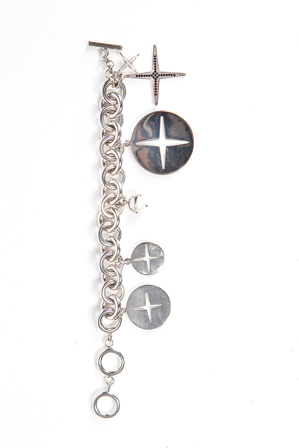 Star of Venus Charm Bracelet