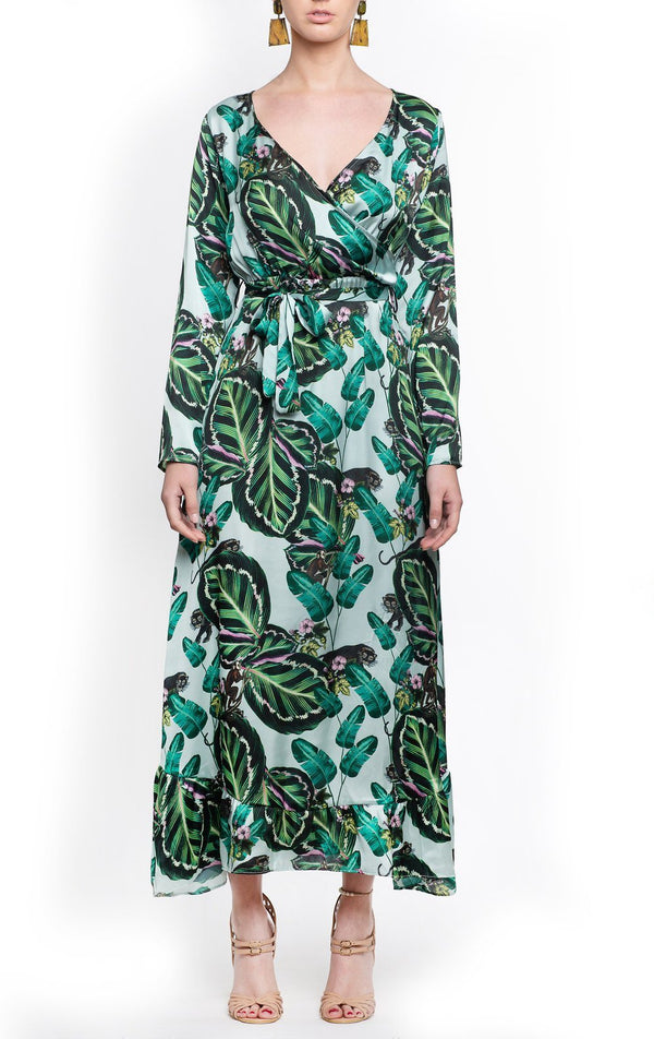 Fiesta Long Dress Amazonas