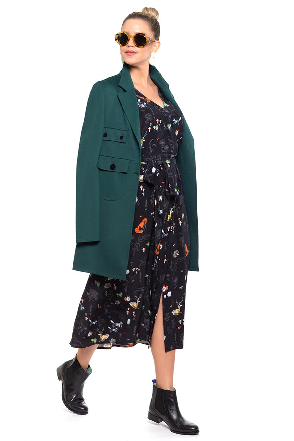 Lucrecia Coat Green