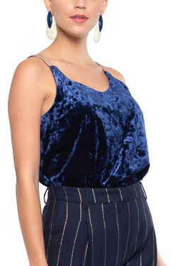 Gina Top Navy
