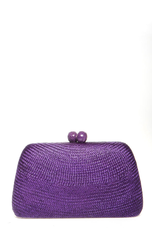 Tina Bun Purple Clutch