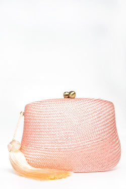 Blair Bun Peach Clutch