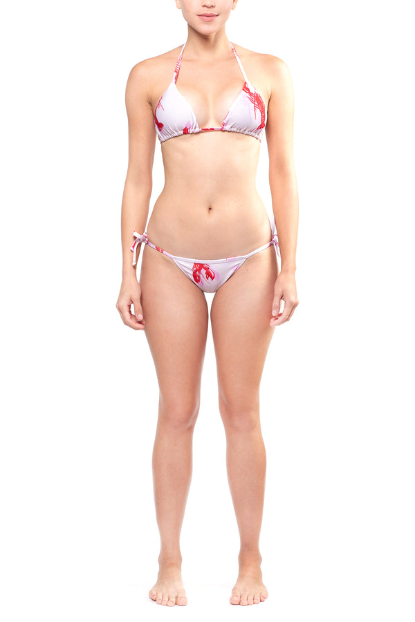 American Lobster Rose Bikini